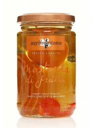 (6 PACKS X 390g) Agrimontana - Candied Fruit Mustard