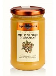 (6 CONFEZIONI X 400g) Agrimontana - Miele di Fiori di Arancio
