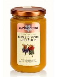 (6 PACKS X 400g) Agrimontana - Alps Flowers Honey