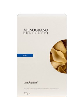 (3 Packs x 500g) Felicetti - Conchiglioni - MONOGRANO - MATT