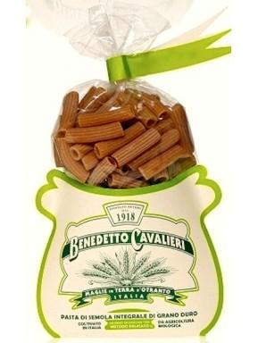 Pasta Cavalieri - Mezzi Rigatoni Whole Wheat Pasta - 500g