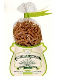 (2 PACKS X 500g) Pasta Cavalieri - Fusilli Whole Wheat Pasta - 500g