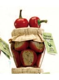 Olive Nostre - Peperoncini Ripieni al Tonno - 180g