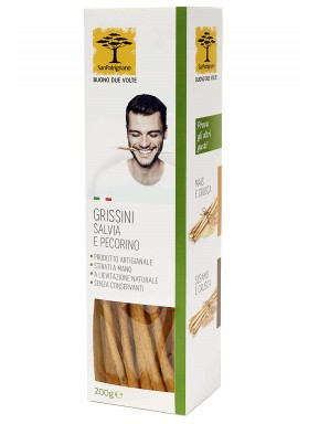 San Patrignano - Sage and Pecorino Cheese Breadsticks - 200g