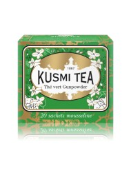 Kusmi Tea - Gunpowder Green Tea - 20 sachets - 44g