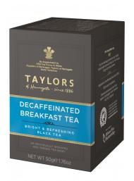 Taylors - Decaffeinated Breakfast Tea - 20 Filtri - 50g