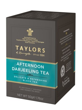 Taylor of Harrogate - Afternoon Darjeeling Tea - 20 Sachets
