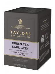 Taylors - Green Tea Earl Grey - 20 Filtri - 50g