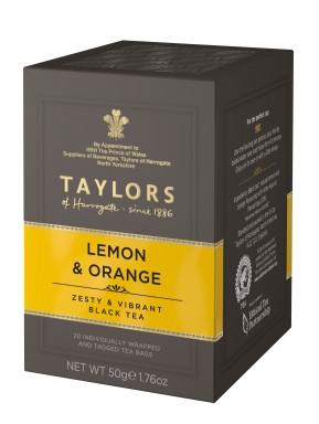 Taylor of Harrogate - Lemon & Orange Tea - 20 Sachets