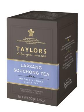 Taylor of Harrogate - Lapsang Souchong Tea - Smoky - 20 Sachets
