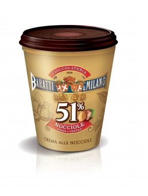 (6 PACKS) Baratti & Milano - Hazelnut Cream - 200g