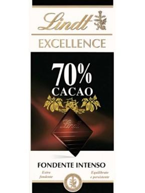 (3 TAVOLETTE X 100g) Lindt - Excellence - 70%