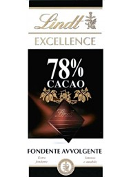(6 BARS X 100g) Lindt - Excellence - 78% -