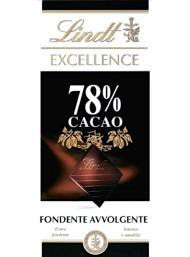 (6 TAVOLETTE X 100g) Lindt - Excellence - 78%