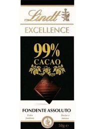 (6 BARS X 50g) Lindt - Excellence - 99%