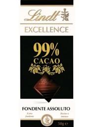 (6 TAVOLETTE X 50g) Lindt - Excellence - 99%