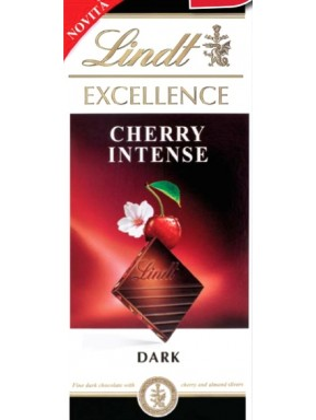 Lindt - Excellence - Cherry Intense - 100g - NEW