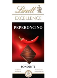 (6 BARS X 100g) Lindt - Excellence - Peperoncino