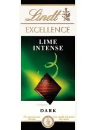 Lindt - Excellence - Lime Intense - 100g