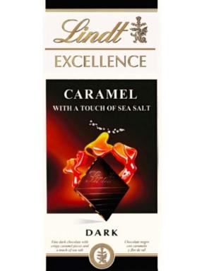 Lindt - Excellence - Caramel à la Pointe de Sel - 100g