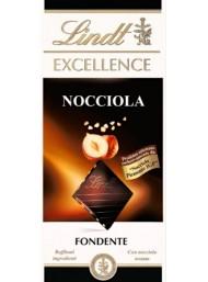 (6 BARS X 100g) Lindt - Excellence - Hazelnut Crunchy