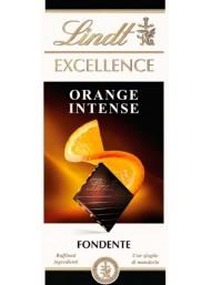 (6 BARS X 100g) Lindt - Excellence - Orange Intense