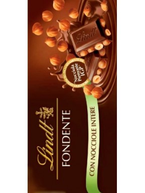 Lindt - Dark Chocolate & Hazelnut - 100g
