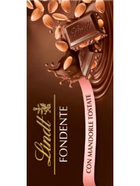Lindt - Dark Chocolate & Almonds - 100g
