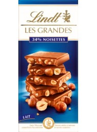 Lindt - Les Grandes - Milk Chocolate with Whole Hazelnuts - 150g