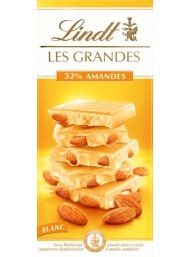 Lindt - Les Grandes - White Chocolate with Whole Almonds - 150g