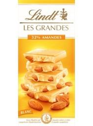 Lindt - Les Grandes - Cioccolato Bianco con Mandorle Intere - 150g