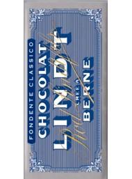 (3 TAVOLETTE X 100g) Lindt - Tavoletta di Cioccolato Fondente