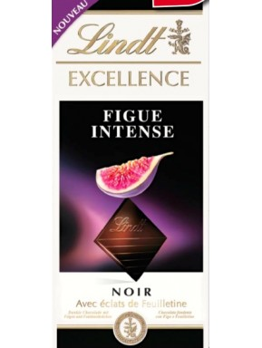 Lindt - Excellence - Figue Intense - 100g - NEW