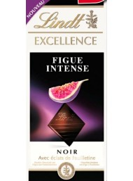(6 BARS X 100g) Lindt - Excellence - Figue Intense - NEW