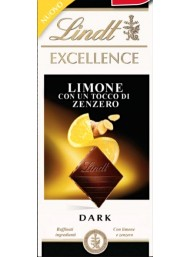 Lindt - Excellence - Lemon and Ginger - 100g - NEW
