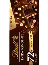 Lindt - Dark Chocolate 72% & Hazelnut - 100g