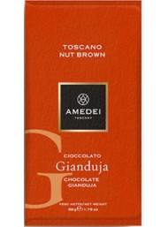 Amedei - Toscano Nut Brown - Gianduja - 50g