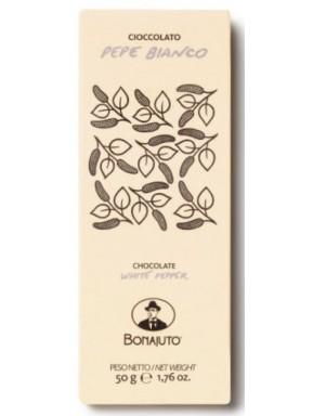 (3 BARS X 50g) Bonajuto - White Pepper