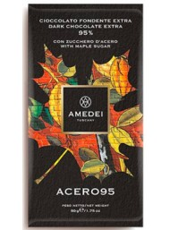 Amedei - Dark Chocolate with Maple Sugar - 95% - 50g
