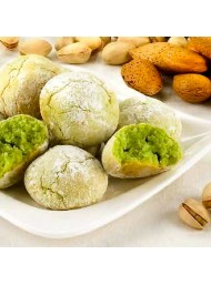 Virginia - Soft Amaretti Biscuits - Pistachio - 1000g
