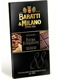 Baratti & Milano - Dark Chocolate 88% - 75g