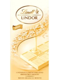 Lindt - Tavoletta Lindor - Bianco - 100g