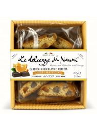 (2 CONFEZIONI X 200g) Nanni - Cantucci Cioccolato e Arancio