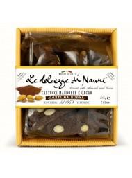 (2 CONFEZIONI X 200g) Nanni - Cantucci Mandorle e Cacao