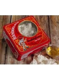 (6 PACKS X 350g) Scaldaferro - Almond Nougat - Gift metal box