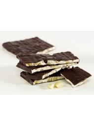 (6 PACKS X 130g) Scaldaferro - Nougat Dark Chocolate Covered