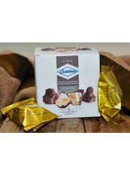 (3 PACKS X 120g) Scaldaferro - Monoportion Nougat Dark Chocolate Covered