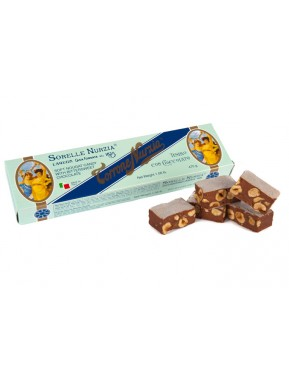 (3 BARS X 470g) Sorelle Nurzia - Soft Nougat - Chocolate and hazelnuts