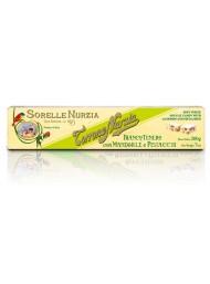 (6 BARS X 200g) Sorelle Nurzia - Soft Nougat with Almond & Pistachio