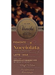 Venchi -Milk and Hazelnut - 100g